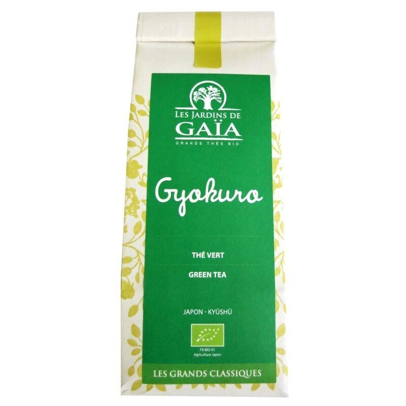 Les Jardins de Gaïa Thé vert bio Japon Gyokuro