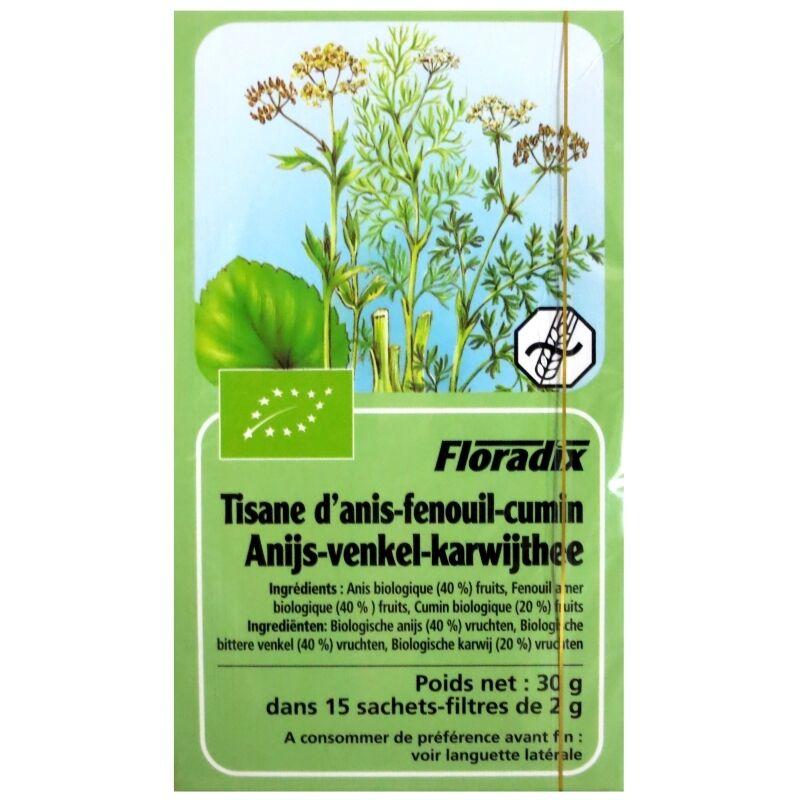Salus France Tisane Floradix Anis-Fenouil-Cumin