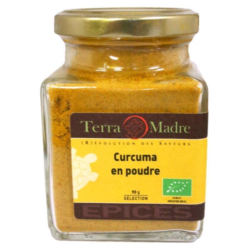Terra Madre Curcuma bio poudre 90 g Terra Madre