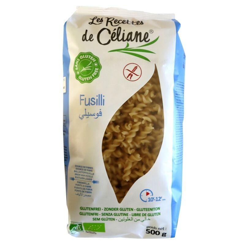 Les Recettes de Céliane Fusilli sans Gluten riz complet bio Les Recettes de Céliane 500g