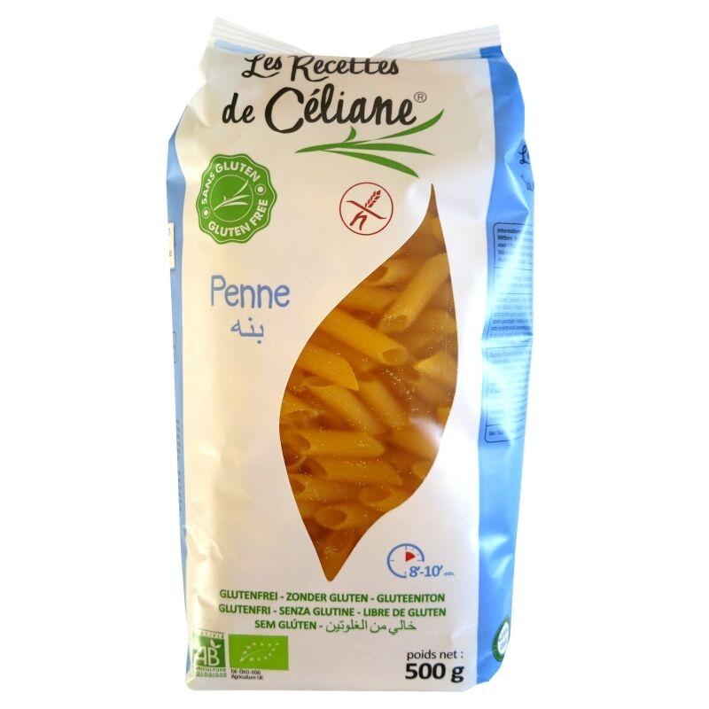 Les Recettes de Céliane Penne sans Gluten maïs riz bio Les Recettes de Céliane 500g