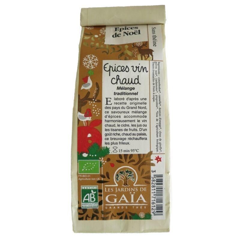 Les Jardins de Gaïa Epices pour vin chaud Jardins de Gaïa 100g
