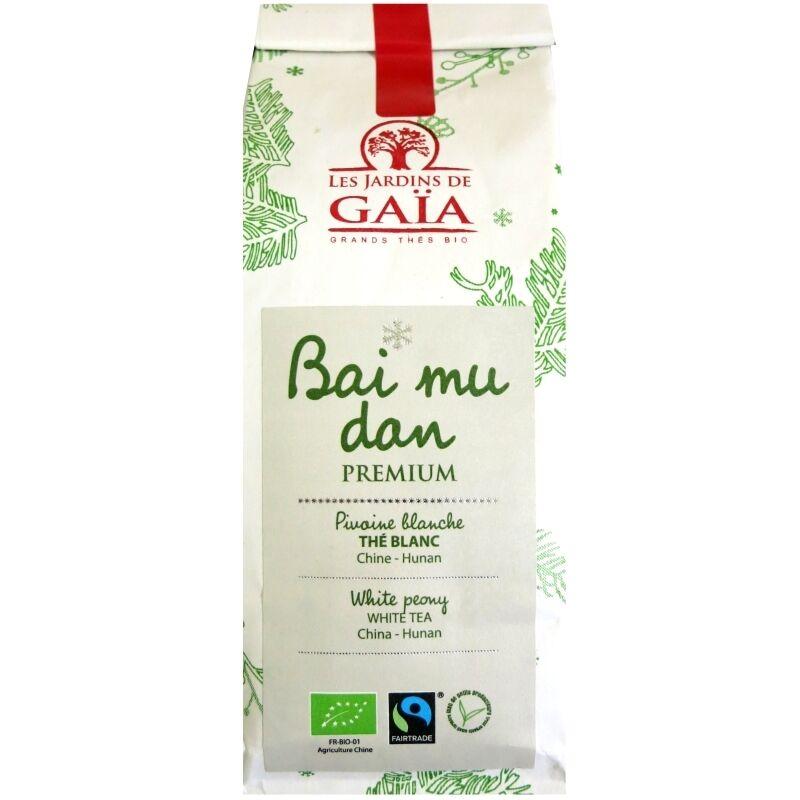 Les Jardins de Gaïa Thé blanc bio Bai Mu Dan Premium  Jardins de Gaïa 50 g