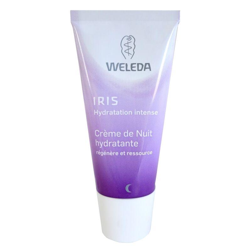 Weleda Crème de nuit hydratante Iris Weleda 30 ml