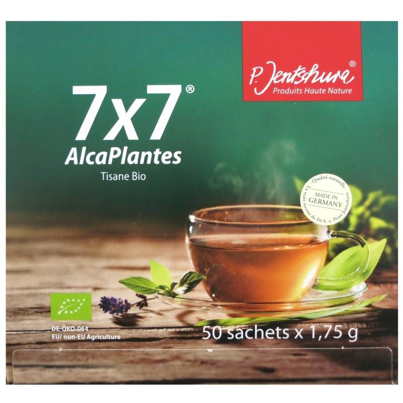 Jentschura Tisane bio AlcaPlantes 7x7 Jentschura