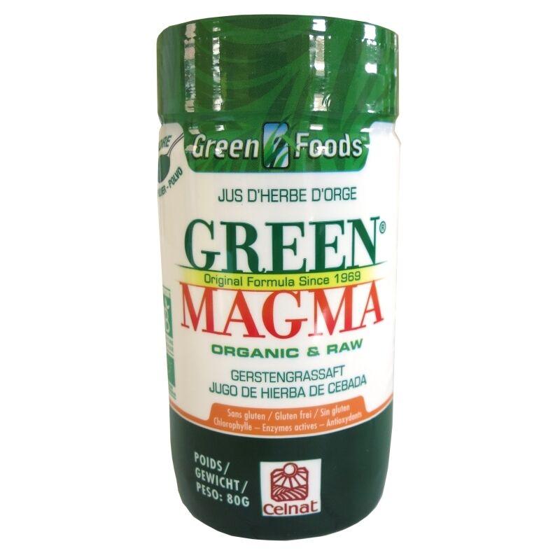 Celnat Green Magma poudre de jus d'herbe d'orge Celnat 80 g