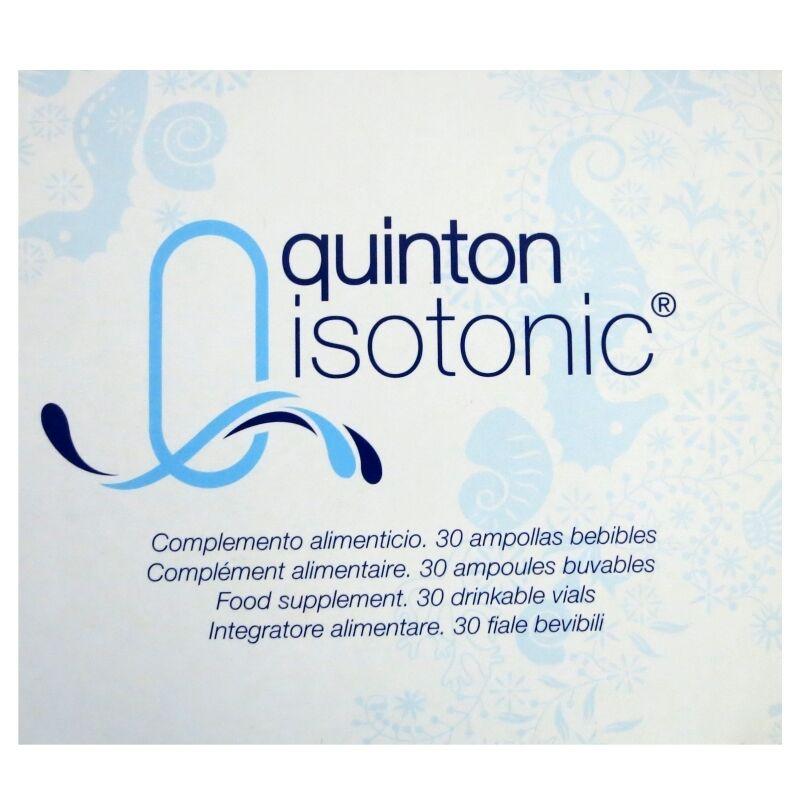 Source Claire Quinton isotonic buvable 30 ampoules