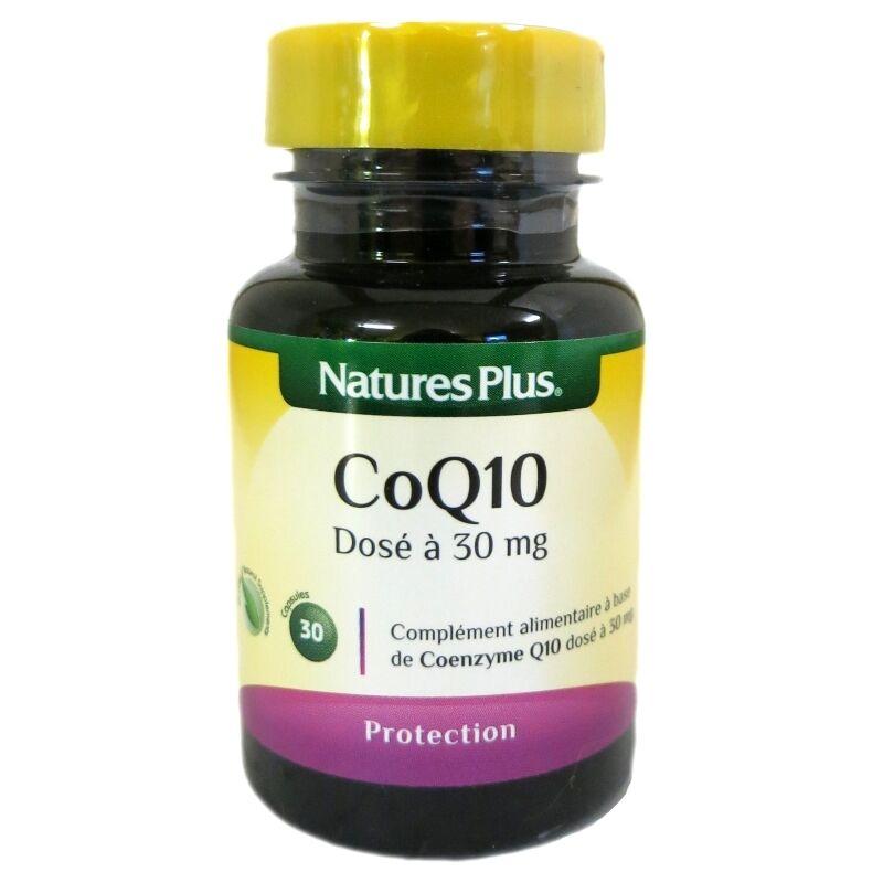 Nature's Plus Coenzyme Q10 Nature's Plus 30mg 30 capsules
