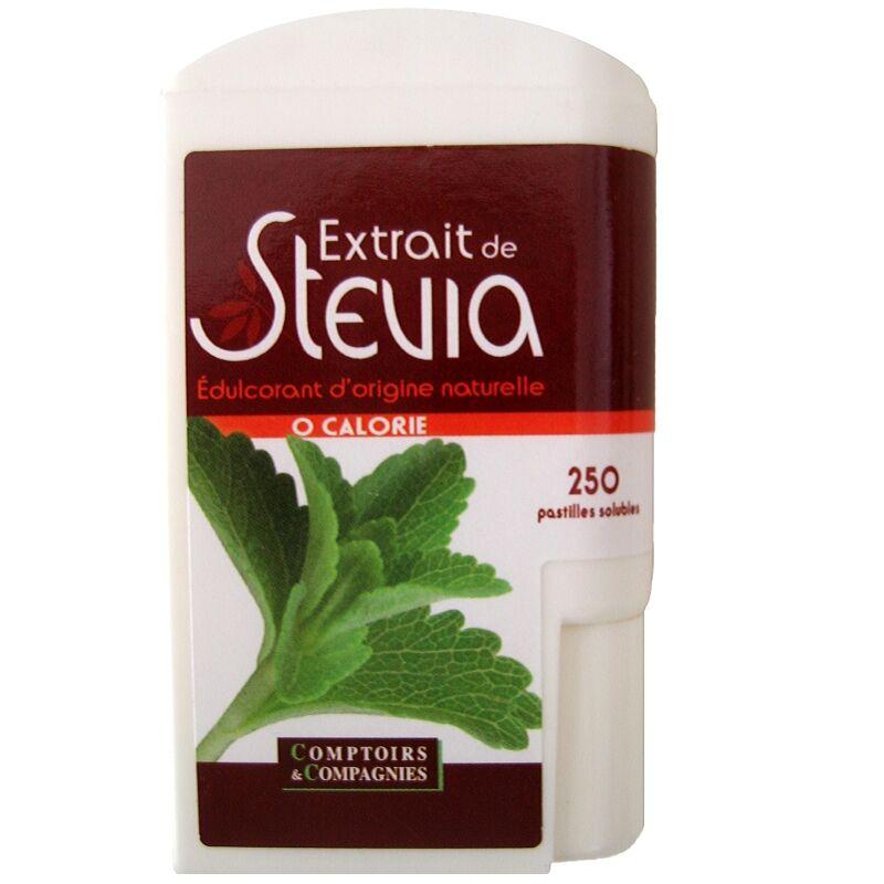 Comptoirs et Compagnies Extrait de Stevia 250 pastilles Comptoirs et Compagnies