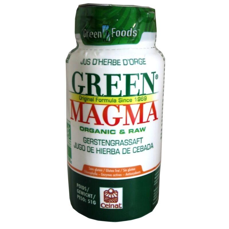 Celnat Green Magma poudre de jus d'herbe d'orge Celnat 136 comprimés