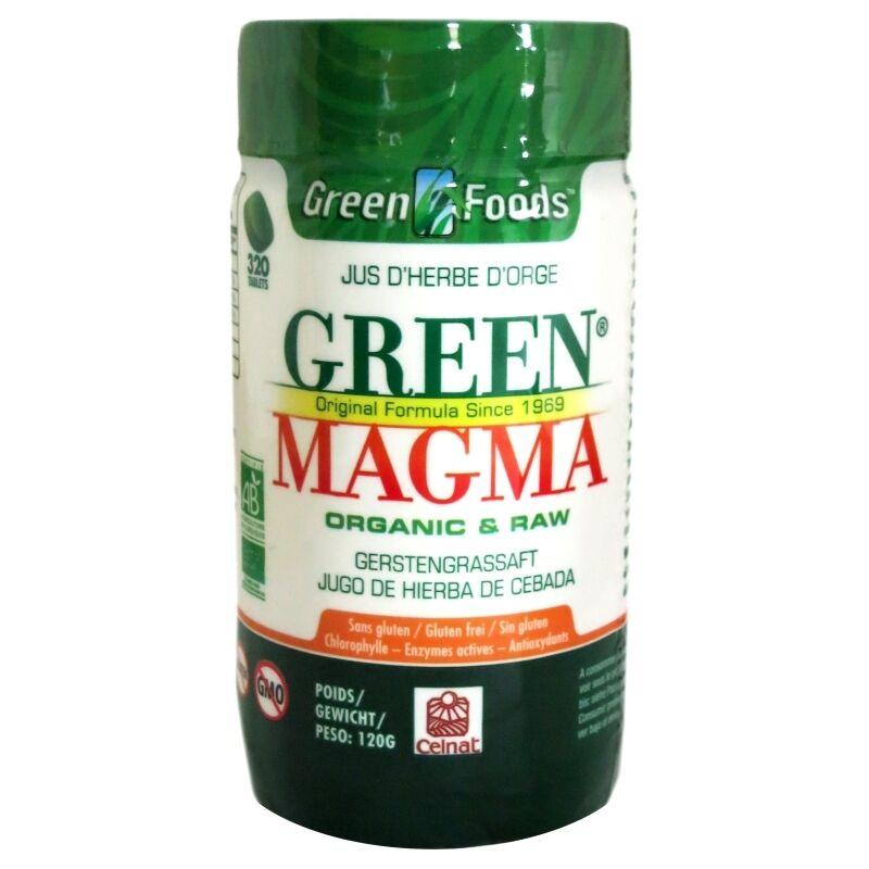 Celnat Green Magma poudre de jus d'herbe d'orge Celnat 320 comprimés