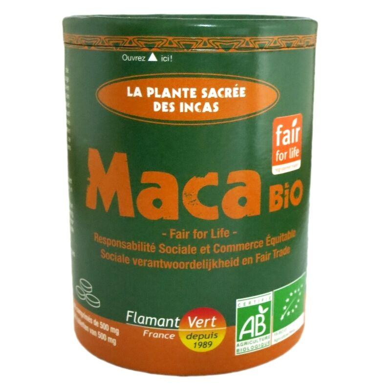 Flamant Vert Maca bio Flamant Vert 340 comprimés