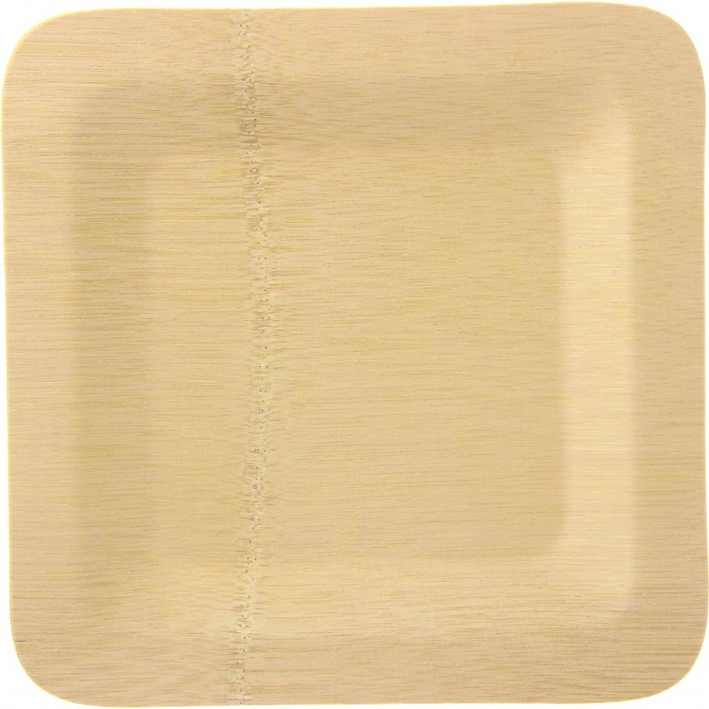 Firplast ASSIETTE BAMBOU CARREE 230X230MM X400(16X25) Firplast