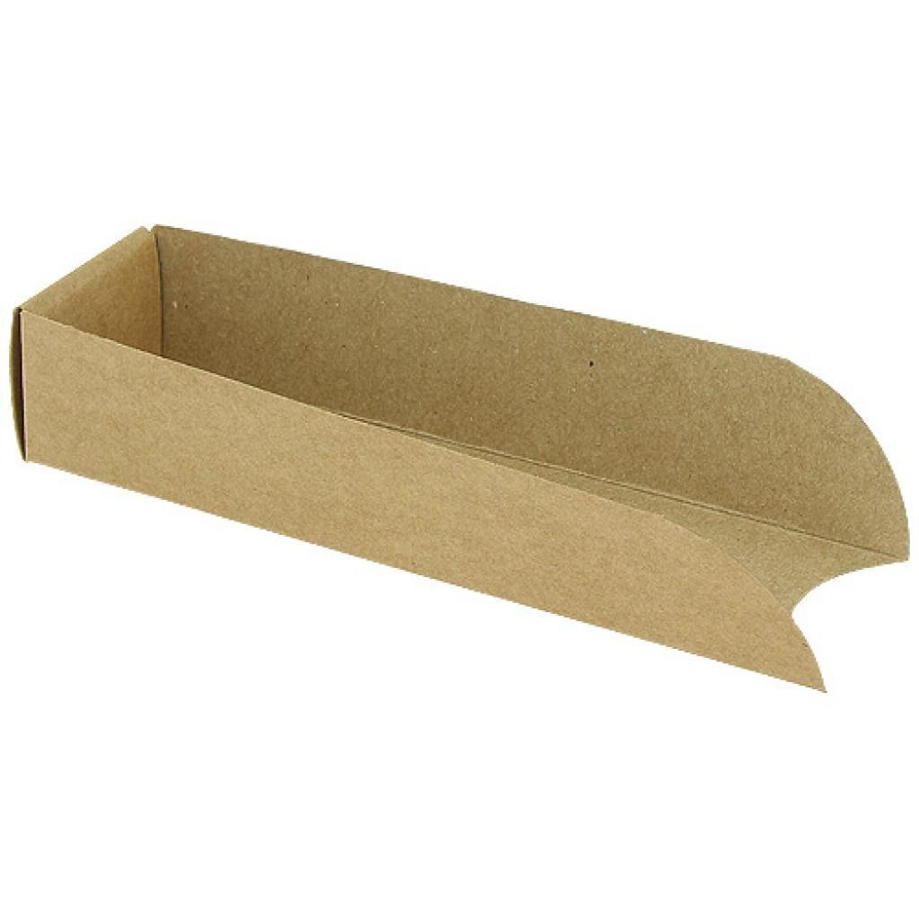 Firplast Etui hot dog en carton kraft brun x 1000 Firplast
