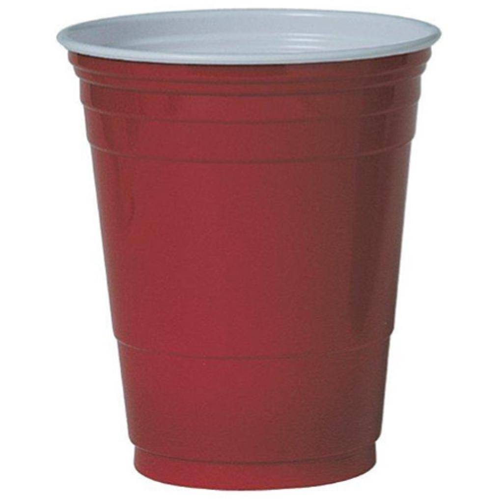 Firplast Gobelet PS ''Party Cup'' Rouge 16OZ/473ML X50 Firplast