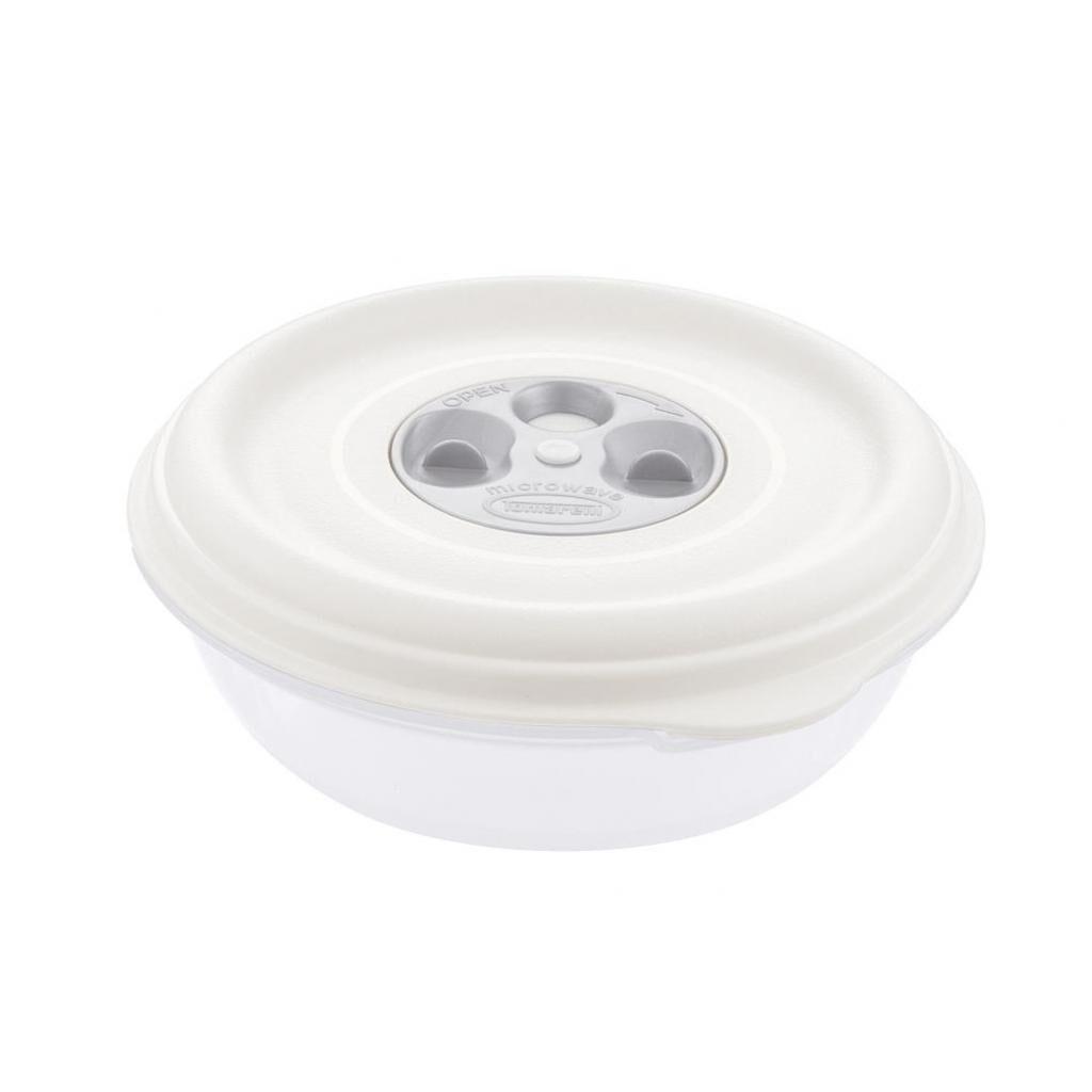 Firplast Bol PP blanc 1L réutilisable diamètre 180mm x 12 Firplast