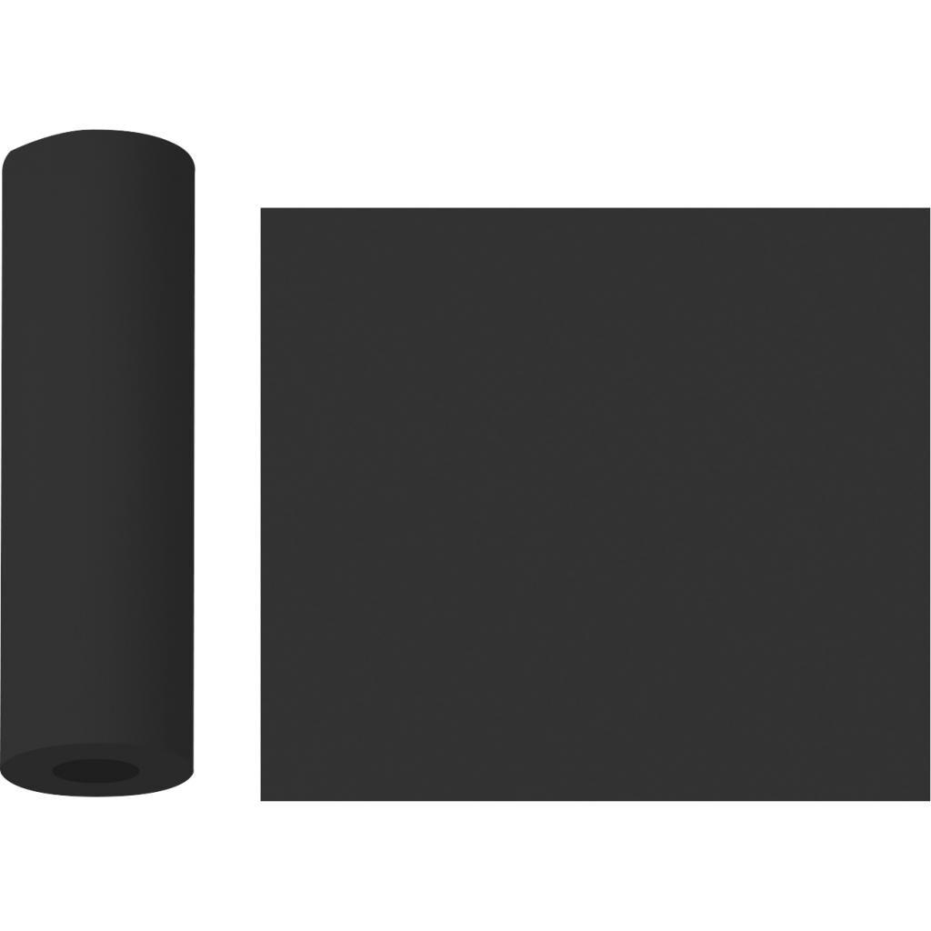 firplast chemin de table voie sèche noire 0.40x10m  (x4) firplast