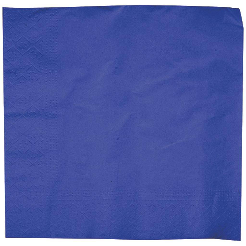 Firplast Serviette Ouate Biodégradable Blue Foncée 40X40 X1250 (10x125) Firplast