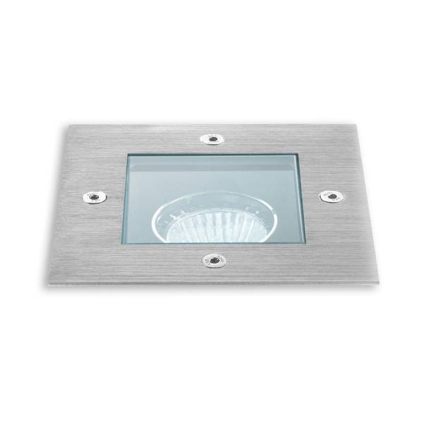 Linea Light Texo 2 - Spot carré orientable - Acier inox - Linea Light
