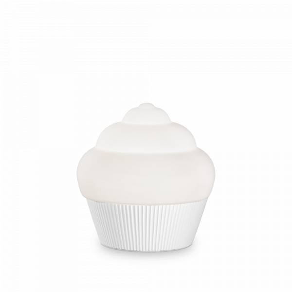 Ideal Lux Cupcake TL1 - Blanc - Ideal Lux