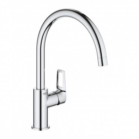 Grohe Start Loop, mitigeur monocommande évier, chrome (31374001)
