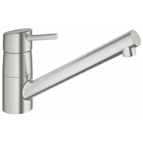 Grohe Concetto Mitigeur monocommande évier SuperSteel (32659DC1)