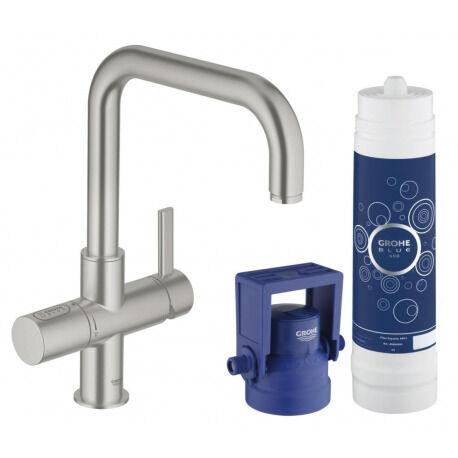Grohe Blue Mitigeur Évier avec Système de Filtration d'Eau Pure 31299DC1