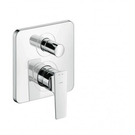 Axor CITTERIO E - Mitigeur bain/douche à encastré avec combinaison de sécurité intégrée EN1717 (36457000)