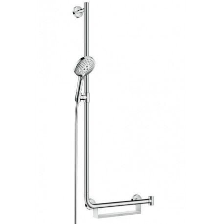 Hansgrohe Set de douche Raindance Select S 120 / Unica'Comfort 1,10 m poignée à droite (26324000)