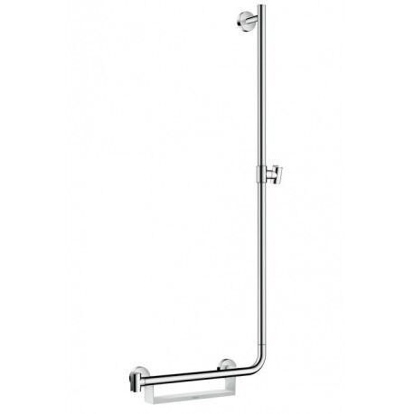 Hansgrohe Barre de douche Unica'Comfort 1,10m avec poignée à gauche, sans flexible (26404400)