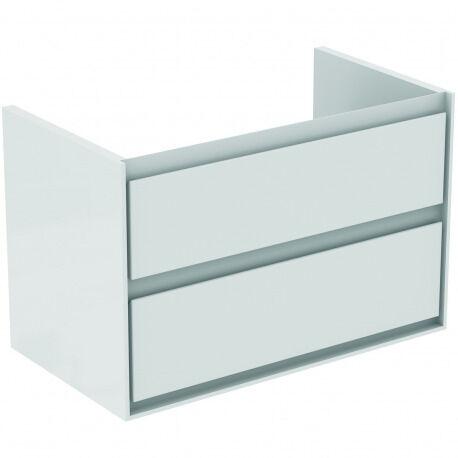 Ideal Standard CONNECT AIR Meuble pour lavabo-plan 517 x 800 x 440 mm Couleur blanc laqué (E0819B2)