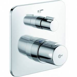 Ideal Standard Tonic II Set de finition pour mitigeur de bain/douche encastré (A6345AA)