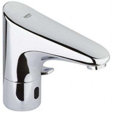 """Grohe Europlus E Mitigeur lavabo infrarouge 1/2"""" avec limiteur de température ajustable, Chromé (36015001)"""