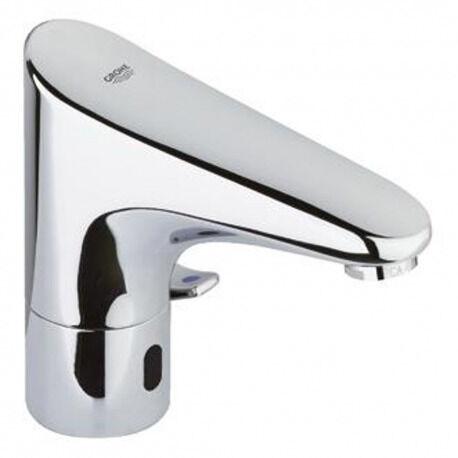 """Grohe Europlus E Mitigeur lavabo infrarouge 1/2"""" avec limiteur de température ajustable, Chromé (36207001)"""