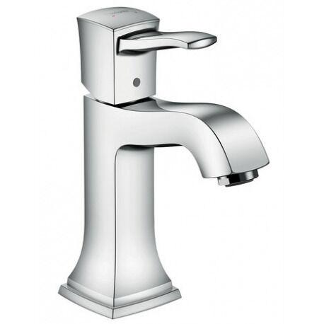 Hansgrohe Metropol Classic 110 Mitigeur lavabo, avec tirette et vidage, chromé (31300000)