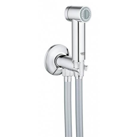 Grohe Sena Trigger Spray 35 Ensemble Douchette avec gâchette et robinet ,1 jet, Chrome (26329000)