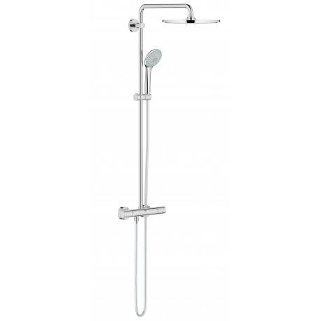 Grohe Euphoria System 310 Colonne de douche avec thermostatique pour montage mural (26075000)