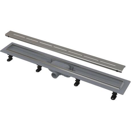 Alca Caniveau de douche avec grille en acier 950 perforée (CPZ18-950M )