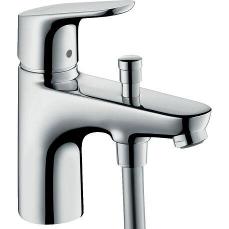 Hansgrohe Focus Mitigeur bain/douche C2 monotrou avec cartouche à 2 vitesses (31938000)