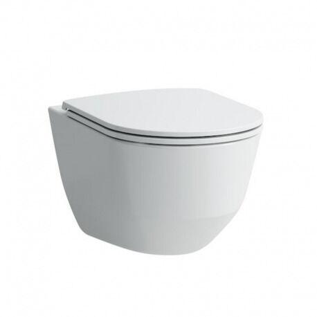 Laufen Pack WC suspendu sans bride, fixations cachées, abattant slim frein de chute (H8669570000001)
