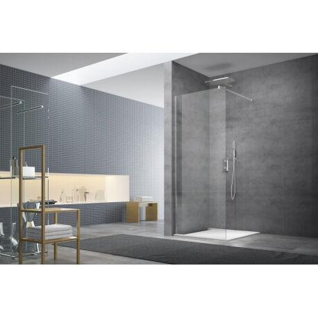 Swiss Aqua Technologies Walk-in Set de paroi de douche fixe à l'italienne, anti-calcaire 117x200 cm (WI120-SET)