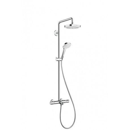 Hansgrohe Croma Select E 180 Colonne de bain/douche 2jets blanc/chromé (27352400)
