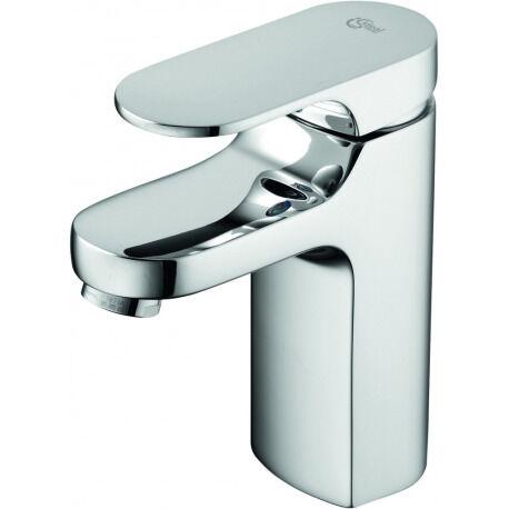 Ideal Standard Moments Piccolo Mitigeur monocommande de lavabo EasyFix + Bonde G1 1/4, DN 15, Chrome (A3926AA)