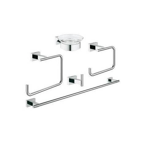 Grohe Essentials Cube Set d'accessoires 5 en 1 (40758001)
