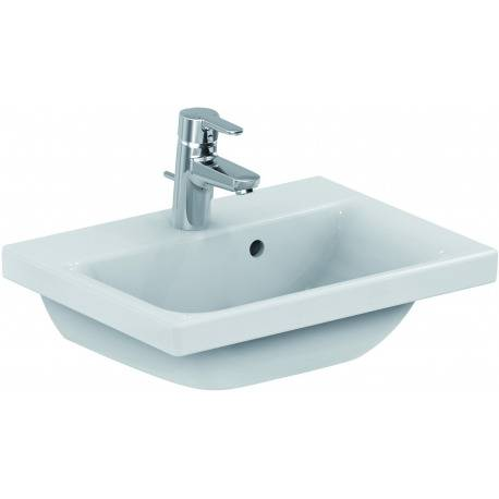 Ideal Standard Connect Space lavabo blanc IdealPlus 500 x 175 x 380 mm (E1323MA)
