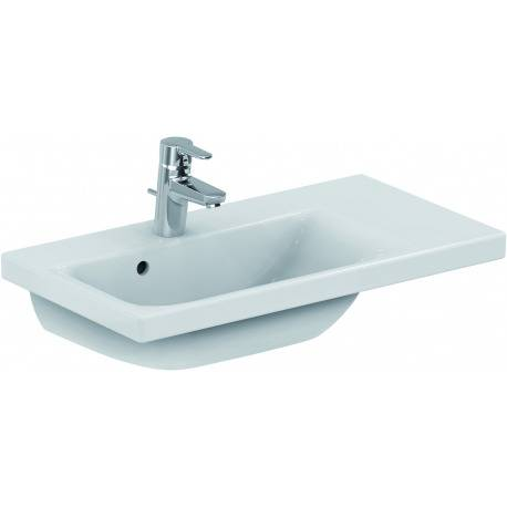 Ideal Standard CONNECT SPACE Lavabo Space 700 mm droite blanc IdealPlus 700 x 175 x 380 mm (E1328MA)