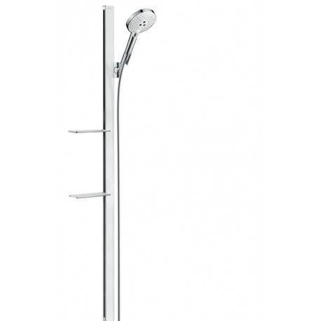 Hansgrohe Raindance Select S Set de douche Raindance Select S 120 / Unica'E 1,50 m, blanc chromé (27646400)