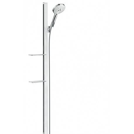 Hansgrohe Raindance Select S Set de douche Raindance Select S 120 EcoSmart / Unica'E 1,50 m, blanc/chromé (27647400)