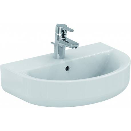 Ideal Standard CONNECT SPACE Lavabo Space Arc 560 x 140 x 380 mm,blanc (E133201)