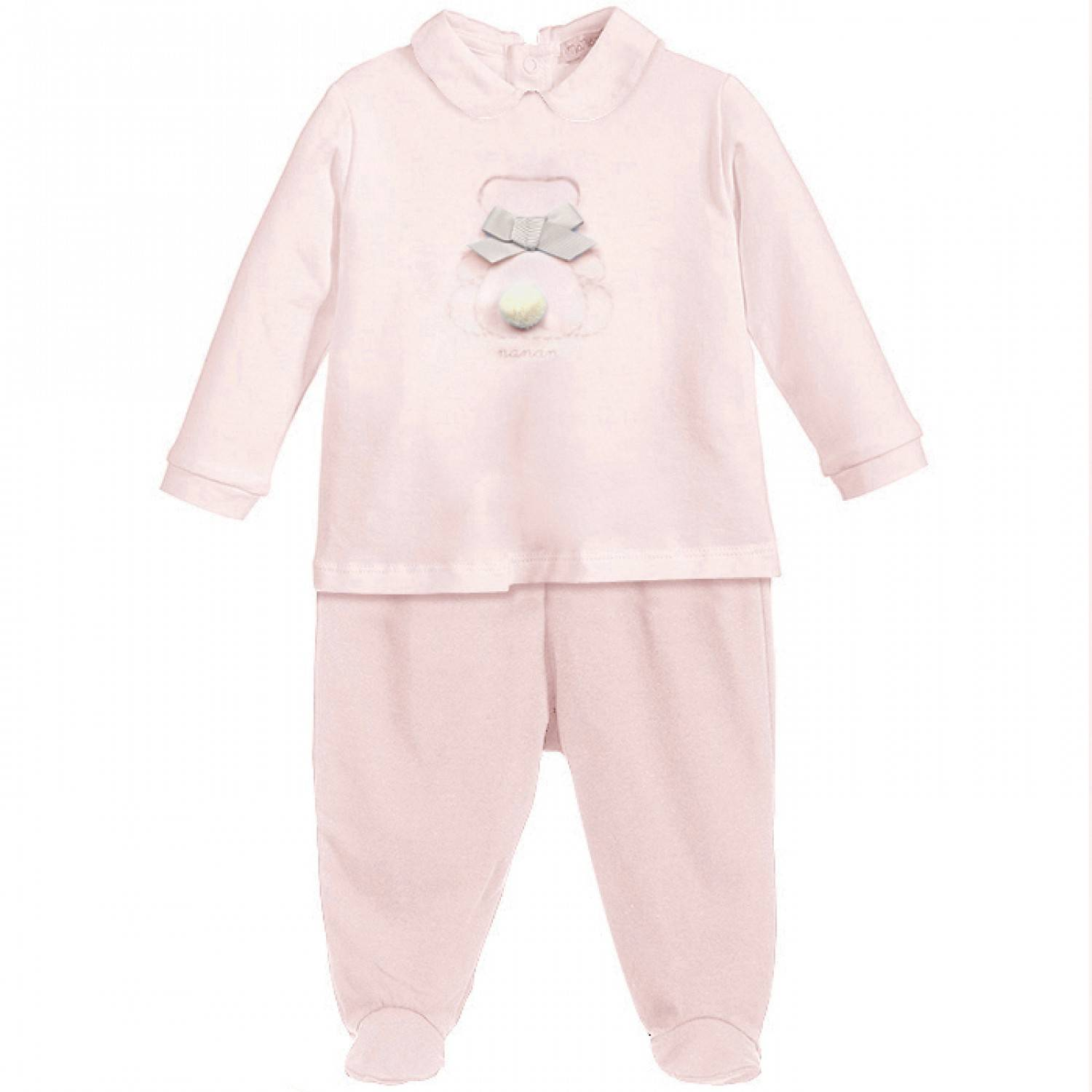 Nanan Baby Pink Bear 2 pièces Taille 3 mois